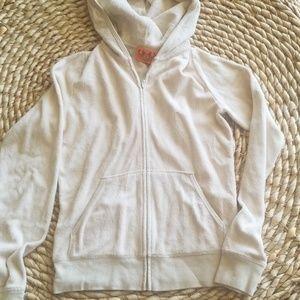 Juicy Couture terry cloth zip hoodie